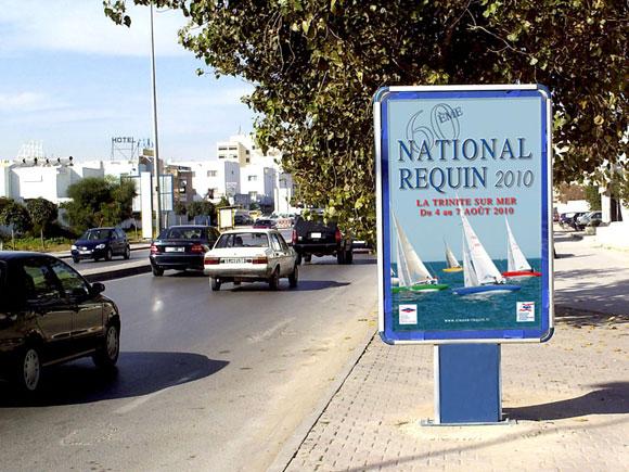 National Requin 2010 - Publicité