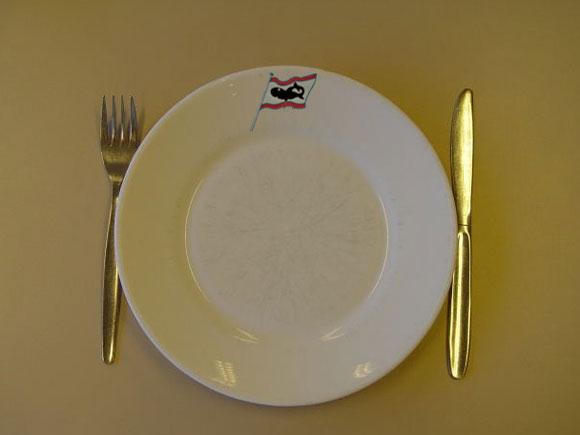 Assiette aux couleurs du Requin - AFPR