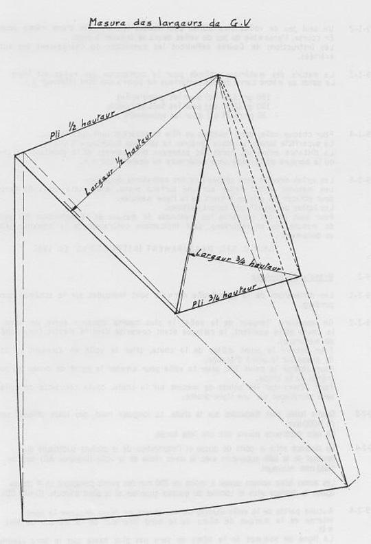 Requin - Plan GV largeurs
