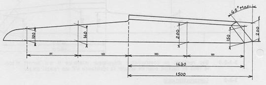 Cotes principales du roof et des hiloires - Version bois