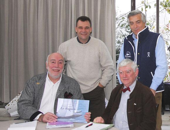 Ph. Petit-Jean, O. Charmet, Y. Suinat, Ch. Chaufour - Assemblée générale AFPR 2010