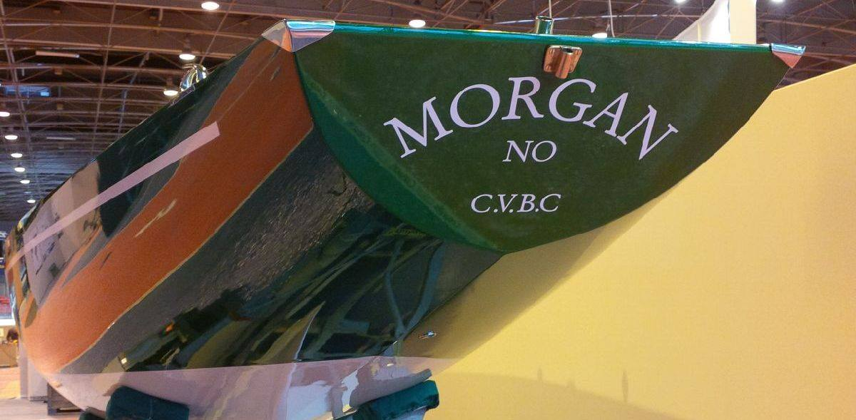 Venez admirer Morgan au Nautic de Paris !