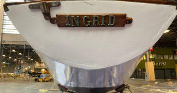 Ingrid bien arrivée au Nautic !